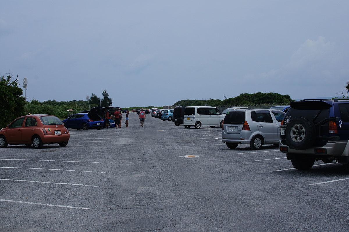 オクマビーチ駐車場