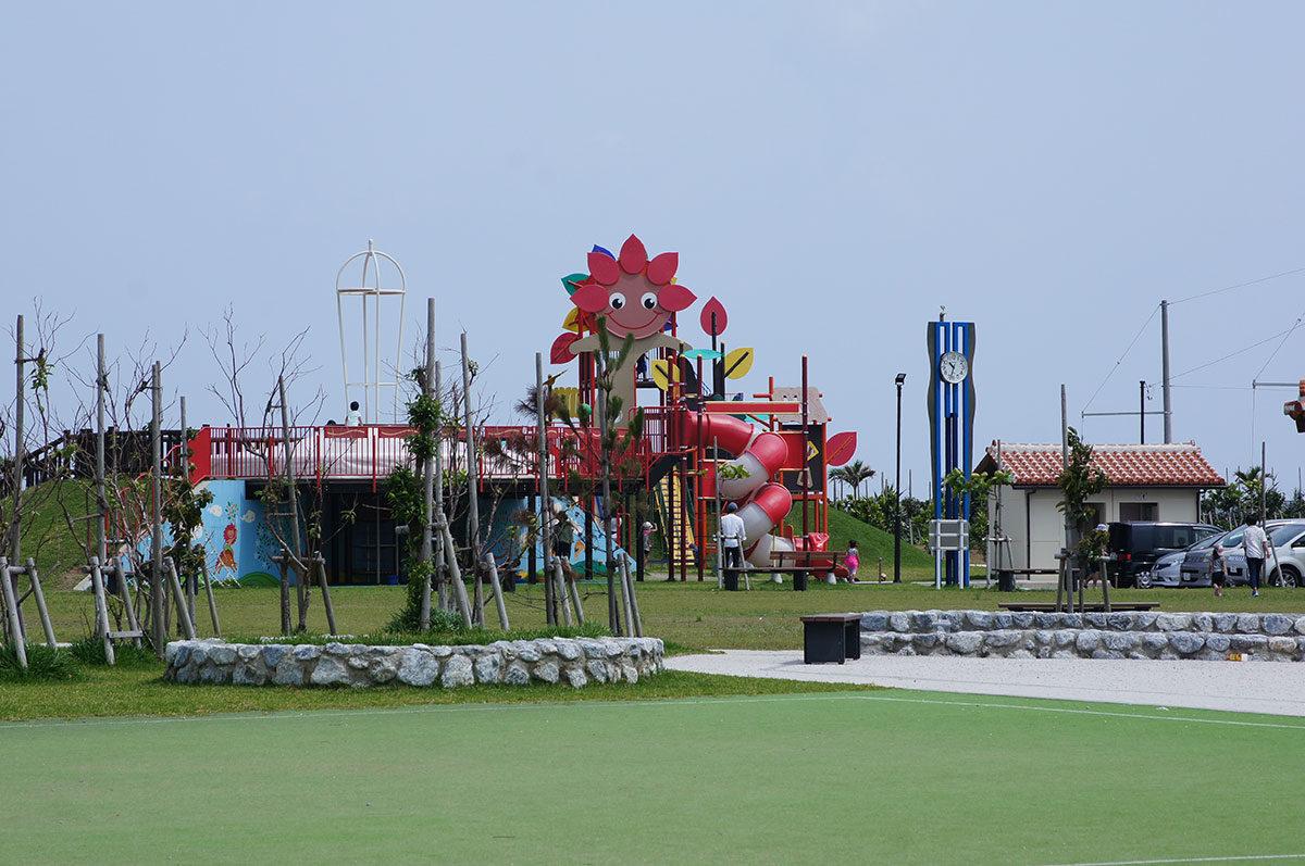 大宜味村の結の浜公園