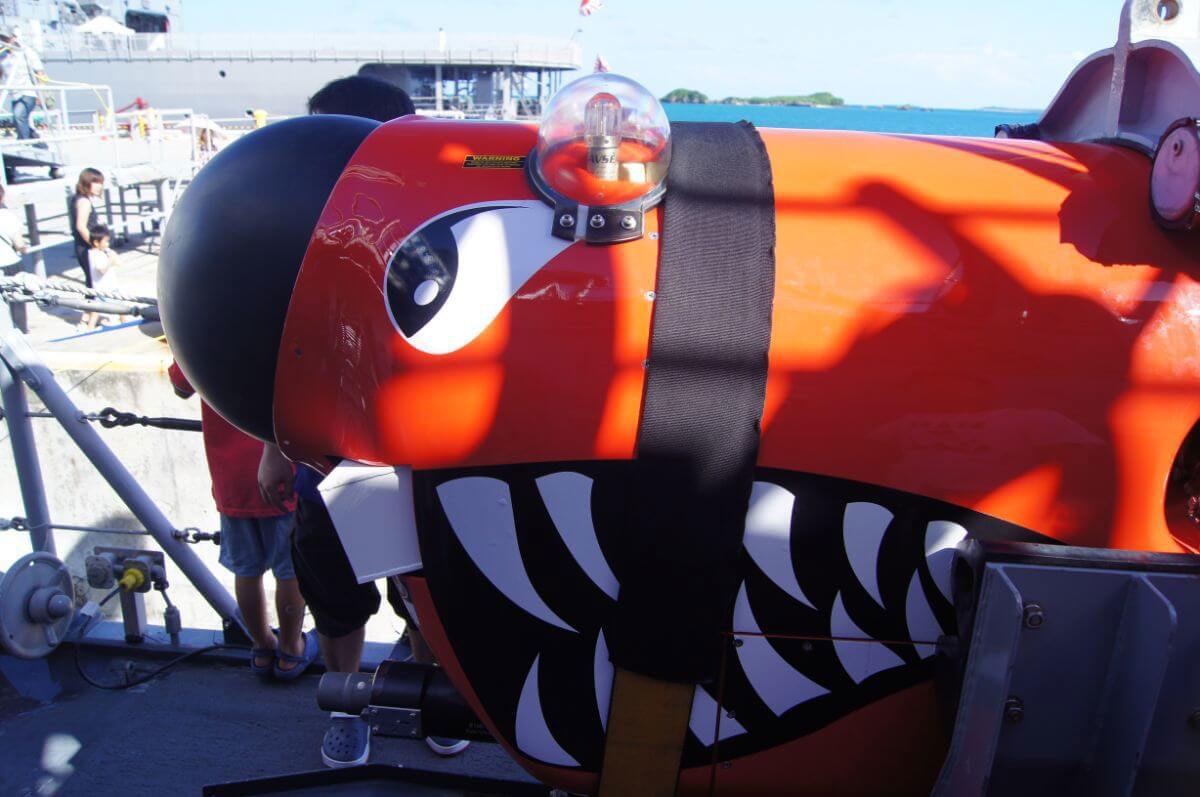 小型の潜水艦みたいなもの?